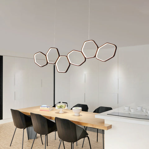 Image of Jocasta - Art Deco LED Geometric Chandelier