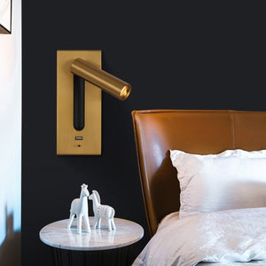 3W Rotating Bedroom Modern Wall Light - Sofrey Selects