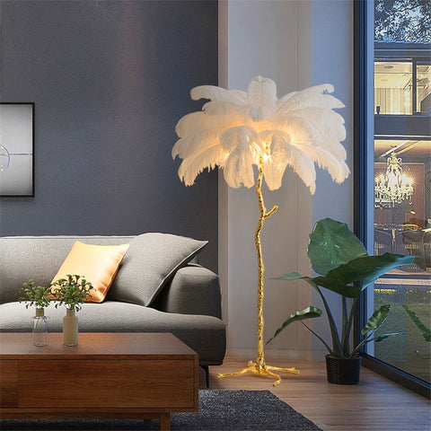 Image of Multi-Feather Floor Lamp