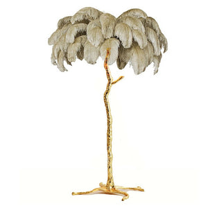 Multi-Feather Floor Lamp