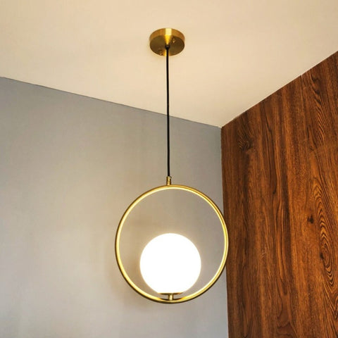 Image of Nordic Style Hanging Ring Lights (20-30-40cm)