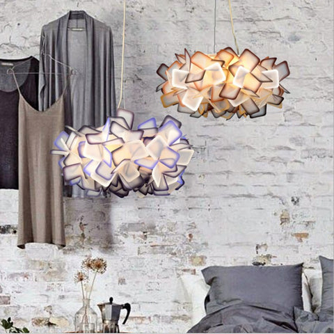 Image of Blossoming Flower Acrylic Pendant Lights