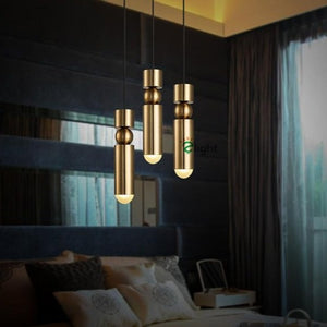 Creative Cylinder & Sphere Post-Modern Pendant Light