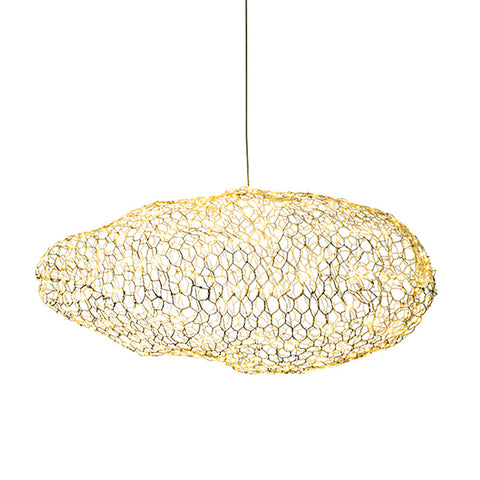 Image of Amica - Modern Art Deco Star Light Dotted Cloud Lamps