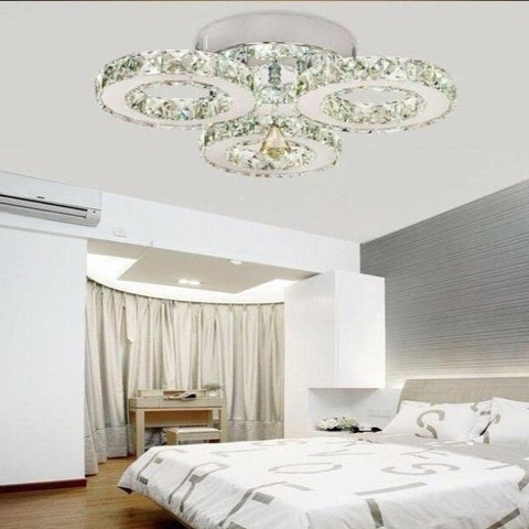 Image of 2020 New  Modern Stainless Steel Chandeliers