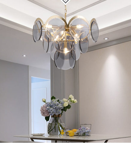 2020 Nordic Chandelier  Light Model Room Hall