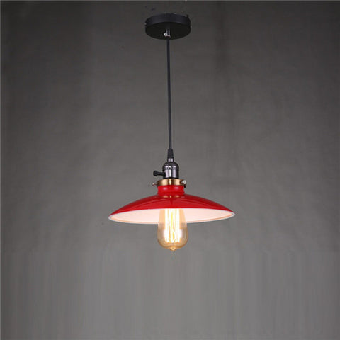 Image of Zelus - Vintage Retro Metal Shade Hanging Lamp