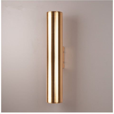 Image of Tobias - Modern Nordic Art Deco Cylinder Wall Lamp