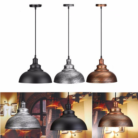 Image of Crios - Vintage Industrial Dome Hanging Lamp