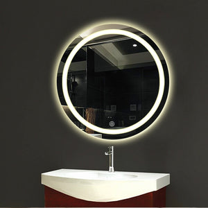 Rosetta - LED Light Frame Round Mirror