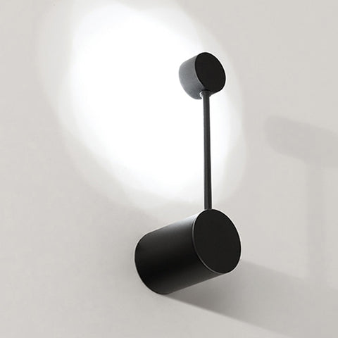 Image of Cyrus - Minimalist Circular Art Deco LED Wall Lamp