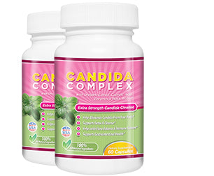 2 Bottles of Candida Complex