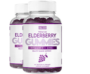 2 Bottles of Elderberry Gummies