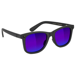 Mikemo Premium - Black Out/Blue Mirror Polarized