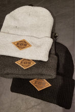 Load image into Gallery viewer, EOS Leather Patch Winter Beanie