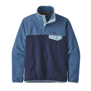Patagonia Women's Lightweight Synchilla® Snap-T® Fleece Pullover - Navy