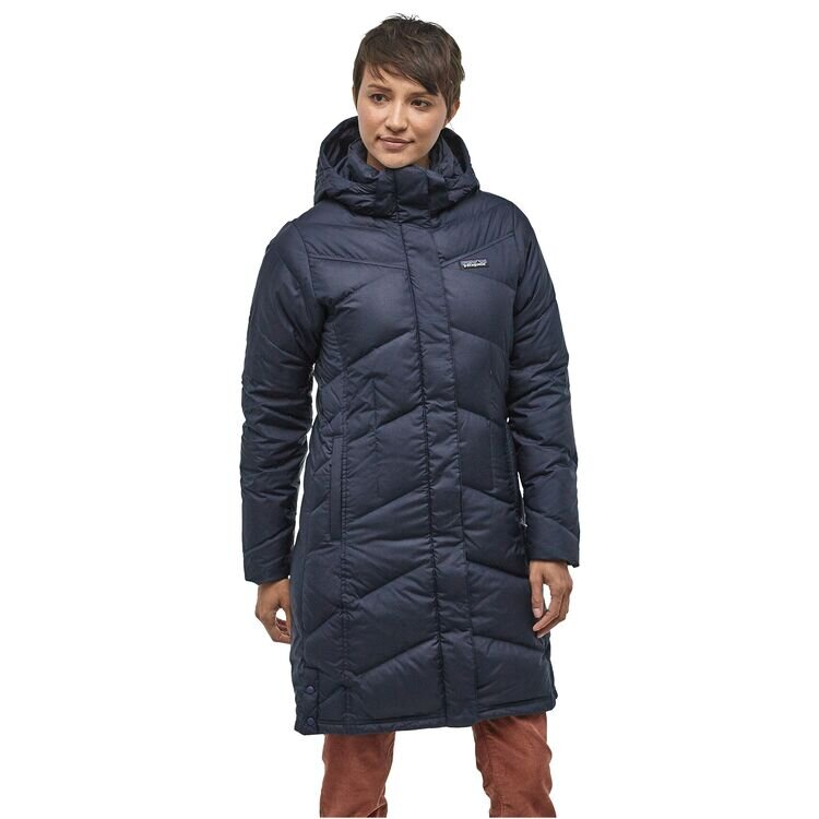 Patagonia Women's Down With It Parka New Navy
