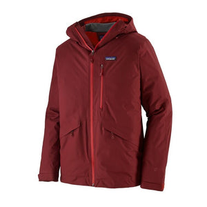 Men's Insulated Snowshot Jacket Oxide Red