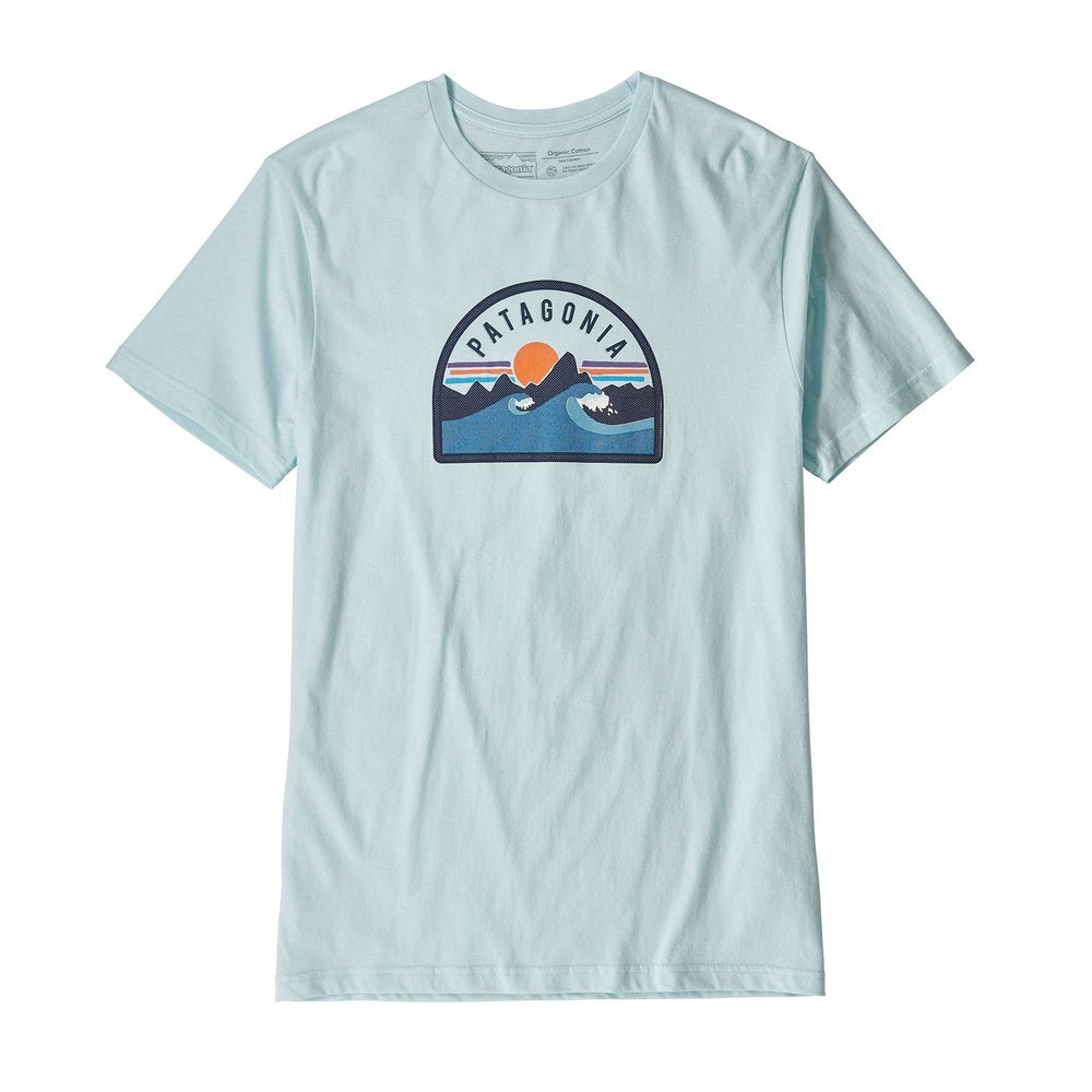 Patagonia Men's Boardie Badge Organic Cotton T-Shirt