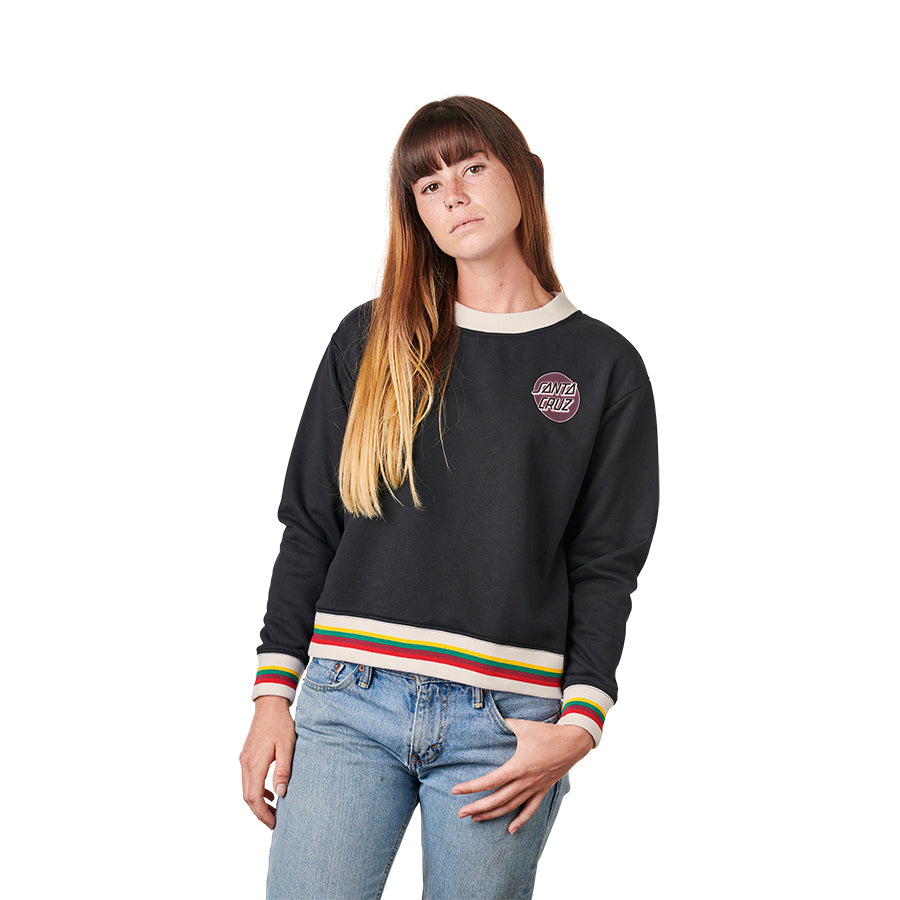 Missing Dot Crew Neck Santa Cruz Womens Sweatshirt