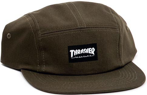 5-Panel Army Green Hat