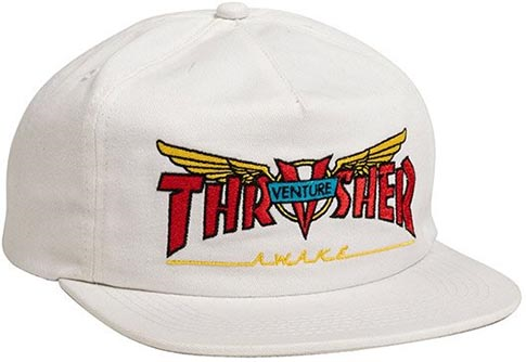 Venture X Thrasher Hat - White