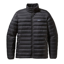 Load image into Gallery viewer, Patagonia Men's Down Sweater Jacket Black & Navy