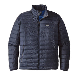 Patagonia Men's Down Sweater Jacket Black & Navy