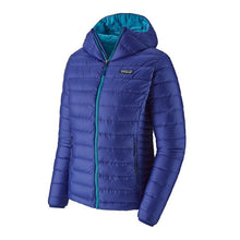 Load image into Gallery viewer, Patagonia Womens Down Sweater Hoody - Cobalt Blue