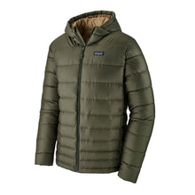 Load image into Gallery viewer, Patagonia Men's High loft Down hoody Jacket Industrial Green