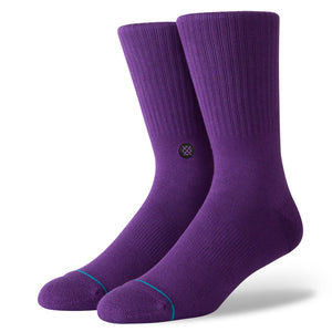 Stance Icon Sock - Purple