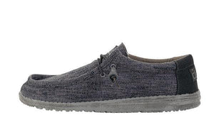 Wally Woven -  Carbon - Hey Dude Shoes
