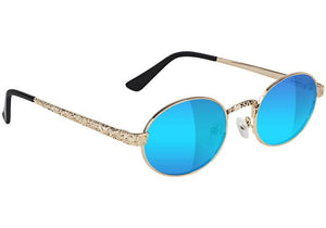 Zion Premium Polarized - Gold / Blue Mirror