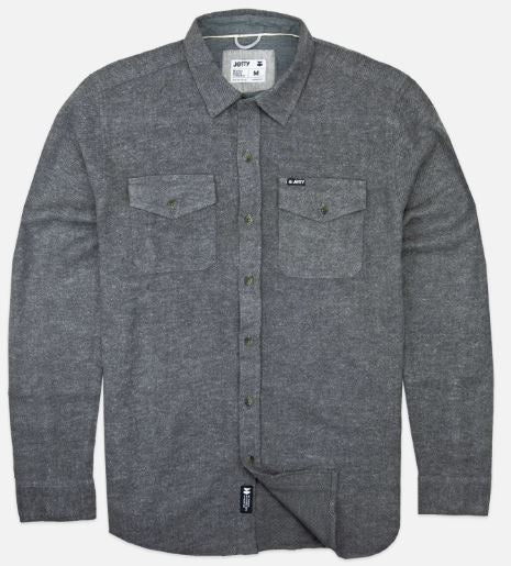 Arbor Heavy Flannel - Charcoal