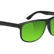 Cole Premium Polarized - Blackout/ Green Mirror