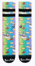 Load image into Gallery viewer, Dipping Sauce - Mens Rick and Morty Stance Socks