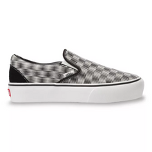 Load image into Gallery viewer, Vans HEMP BLUR CHECKER SLIP-ON PLATFORM SF
