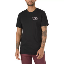 Load image into Gallery viewer, Men's Full Patch Back T-Shirt - Black\Cool Pink