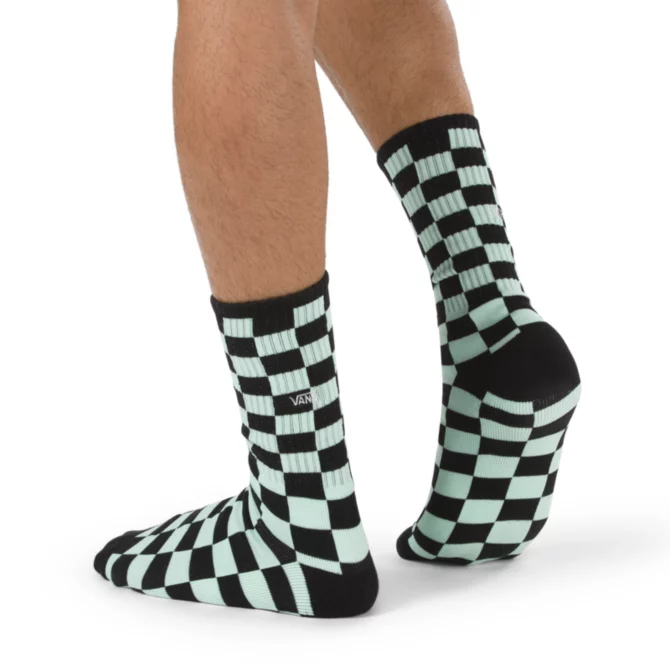 Checkerboard Crew Sock