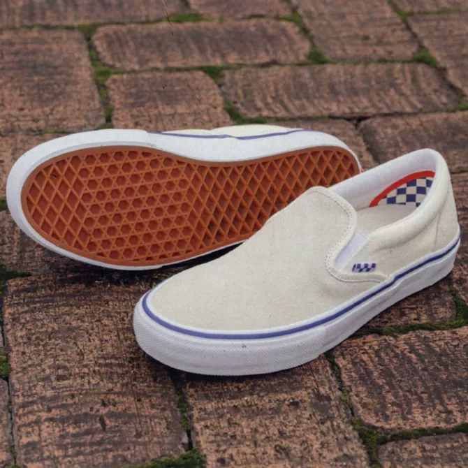 Skate Classics Slip On - Off White