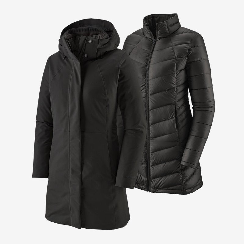 Women's Tres 3-in-1 Parka - Black