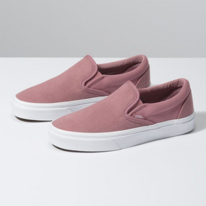 Vans Herringbone Slip- On - Nostalgia Rose / True White