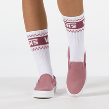 Load image into Gallery viewer, Vans Herringbone Slip- On - Nostalgia Rose / True White