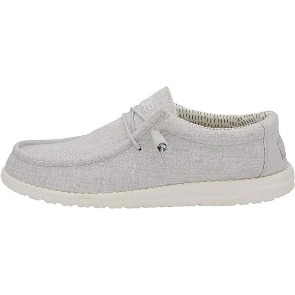 WALLY CHAMBRAY GREY Mens Hey Dude shoes