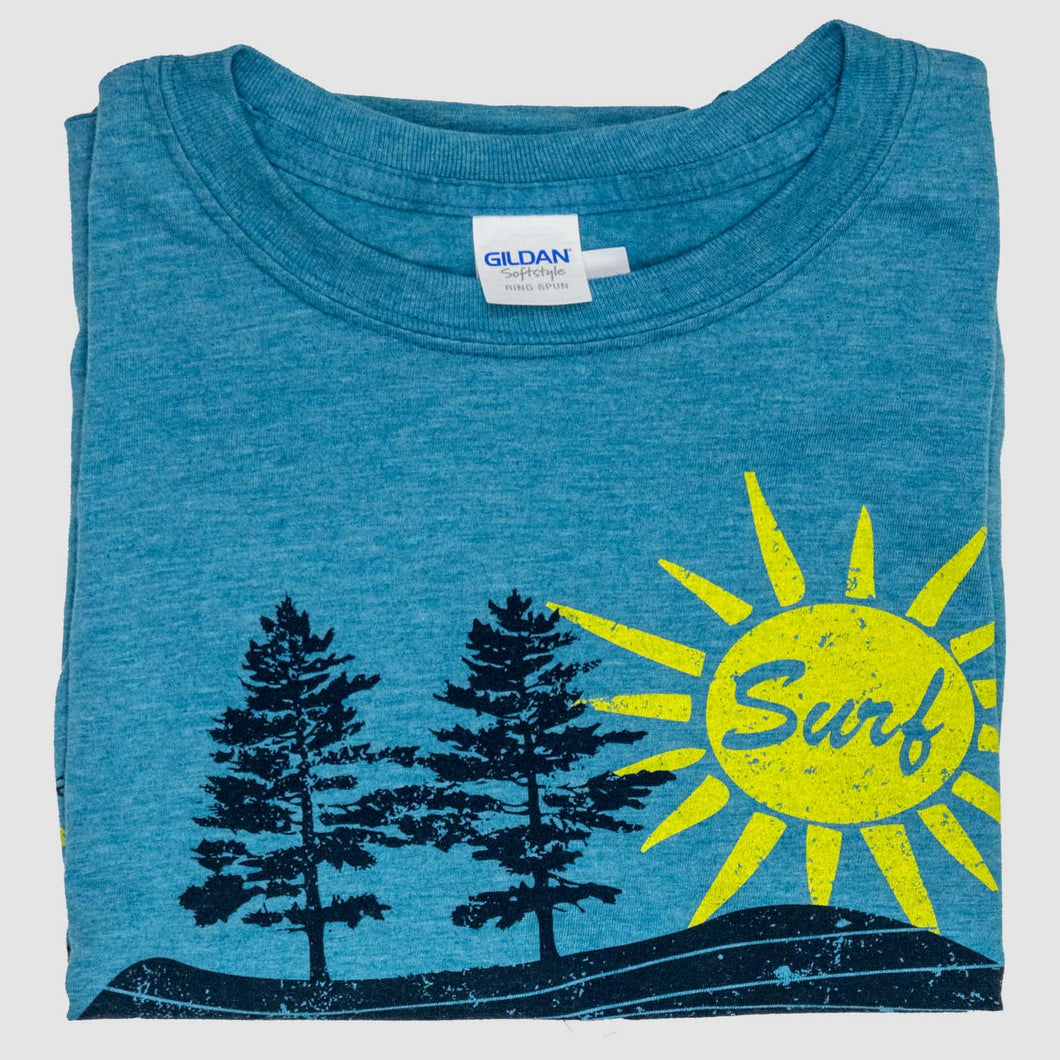 Surf Sheboygan Shirt - Blue