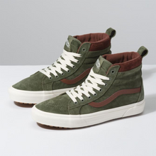Load image into Gallery viewer, Vans Sk8-Hi MTE - Deep Lichen Green / Rootbeer