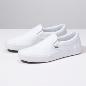 Slip On Pro - White