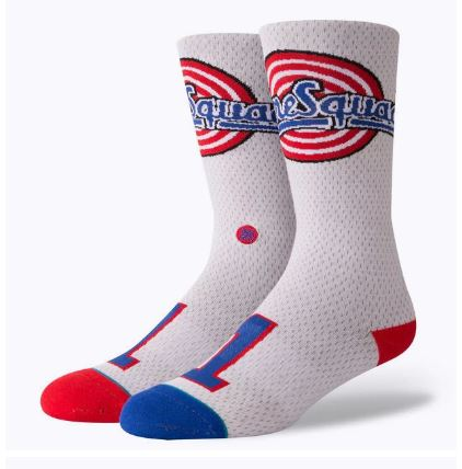 Stance Tune Squad Jersey Space Jam Socks