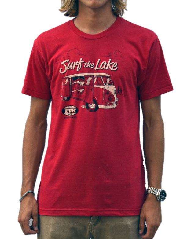 Surf The Lake Shirt - Red