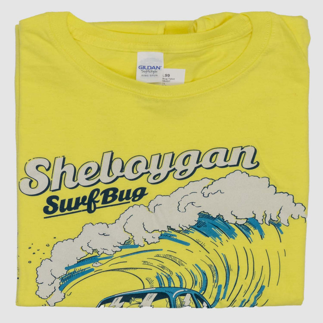Womens Surf Bug Shirt - Yellow